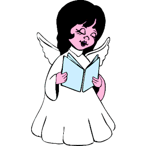 Angels Singing Clipart - Clipart Kid