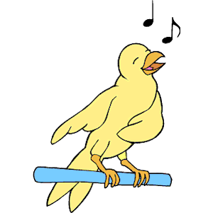 Bird Singing 2 Clipart Cliparts Of Bird Singing 2 Free Download  Wmf