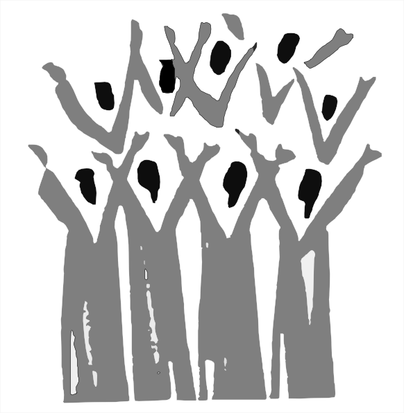 Black Gospel Choir Clip Art