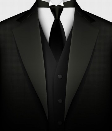 Black Suit Vector Free Vector In Encapsulated Postscript Eps    Eps