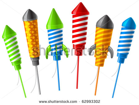Bottle Rocket Firework Clipart Rockets For Fireworks