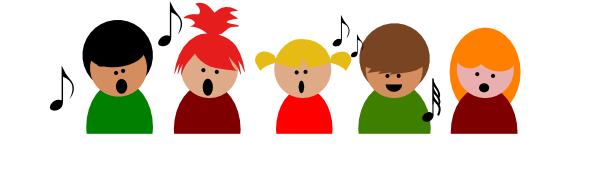 Students Christmas Singers Clipart - Clipart Kid
