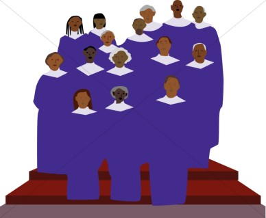 Church Choir Clipart Church Choir Graphic Church Choir Image