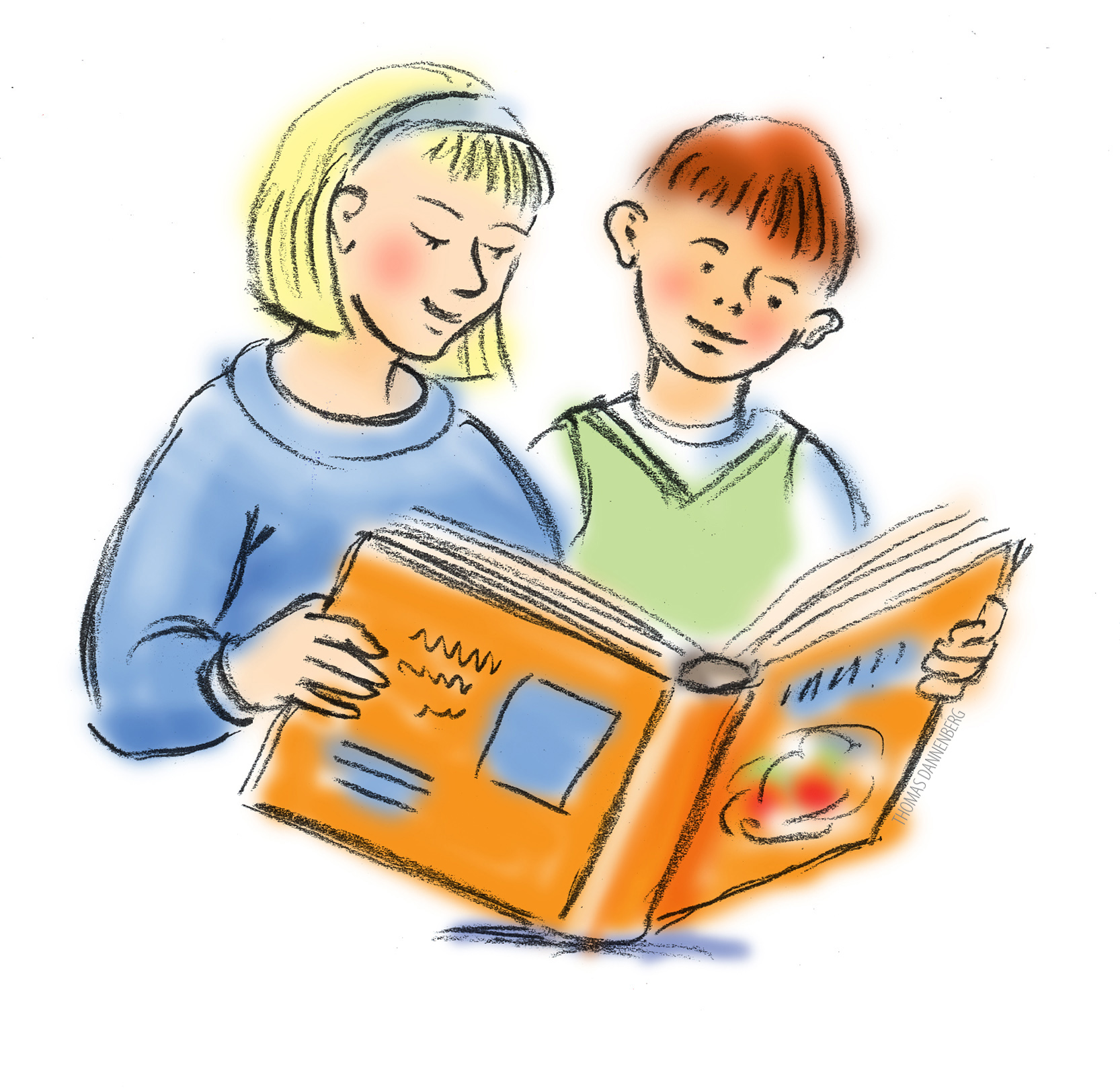 Reading Books Clipart - Clipart Suggest