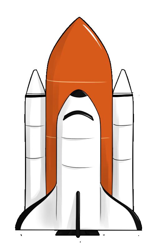 Shuttle Launch Clipart - Clipart - 84.2KB