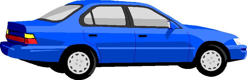 Blue Car Clipart - Clipart Kid