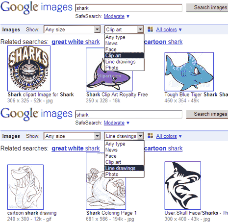 Google Search Clipart Line Drawings