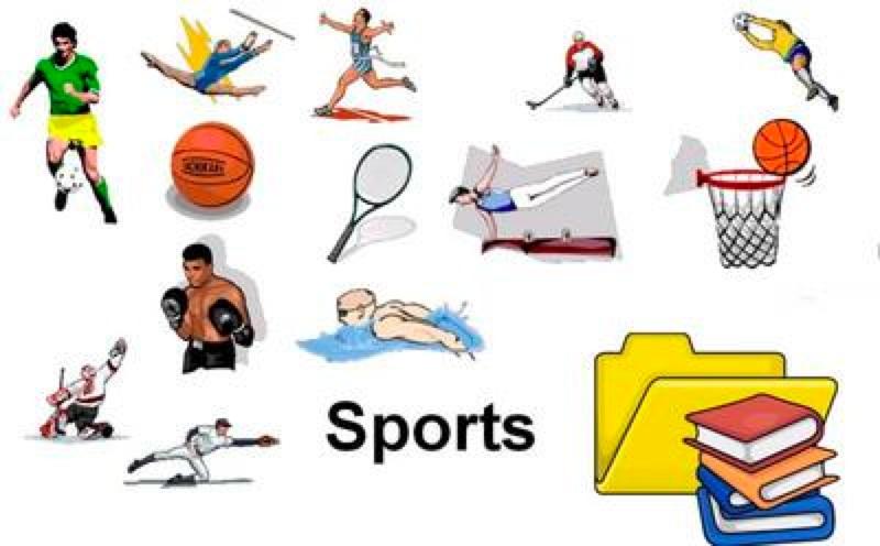 School Sports Clipart - Clipart Kid