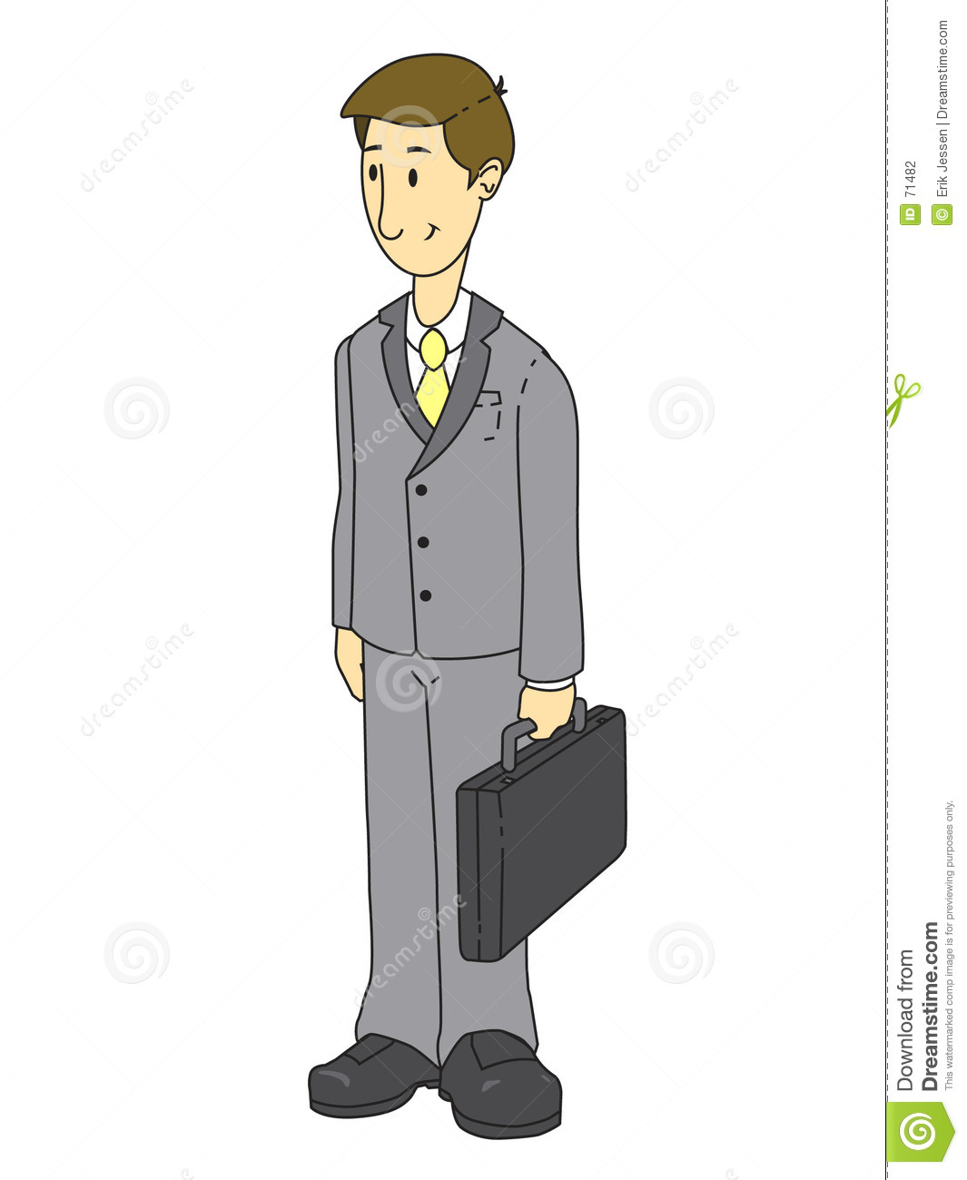 Man In Business Suit Clipart Gray Suit Business Man