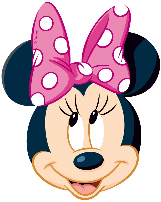 Minnie Mouse Head Clip Art   Clipart Panda   Free Clipart Images