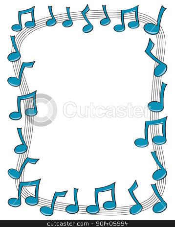 Music Border Clipart - Clipart Kid