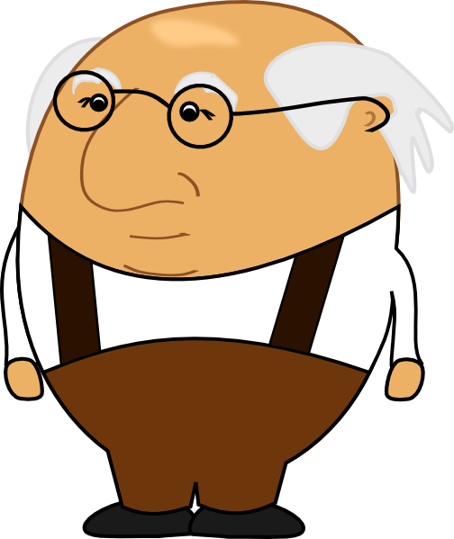 Old Man Clip Art At Clker Com   Vector Clip Art Online Royalty Free