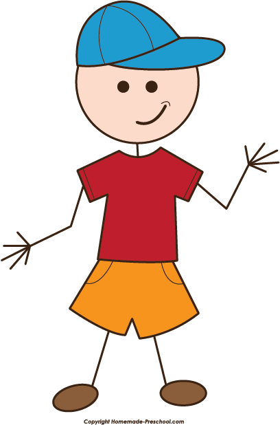 People Clip Art Cpa Stick People Boy Png