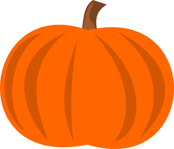 Plain Pumpkin Clip Art At Clker Com   Vector Clip Art Online Royalty