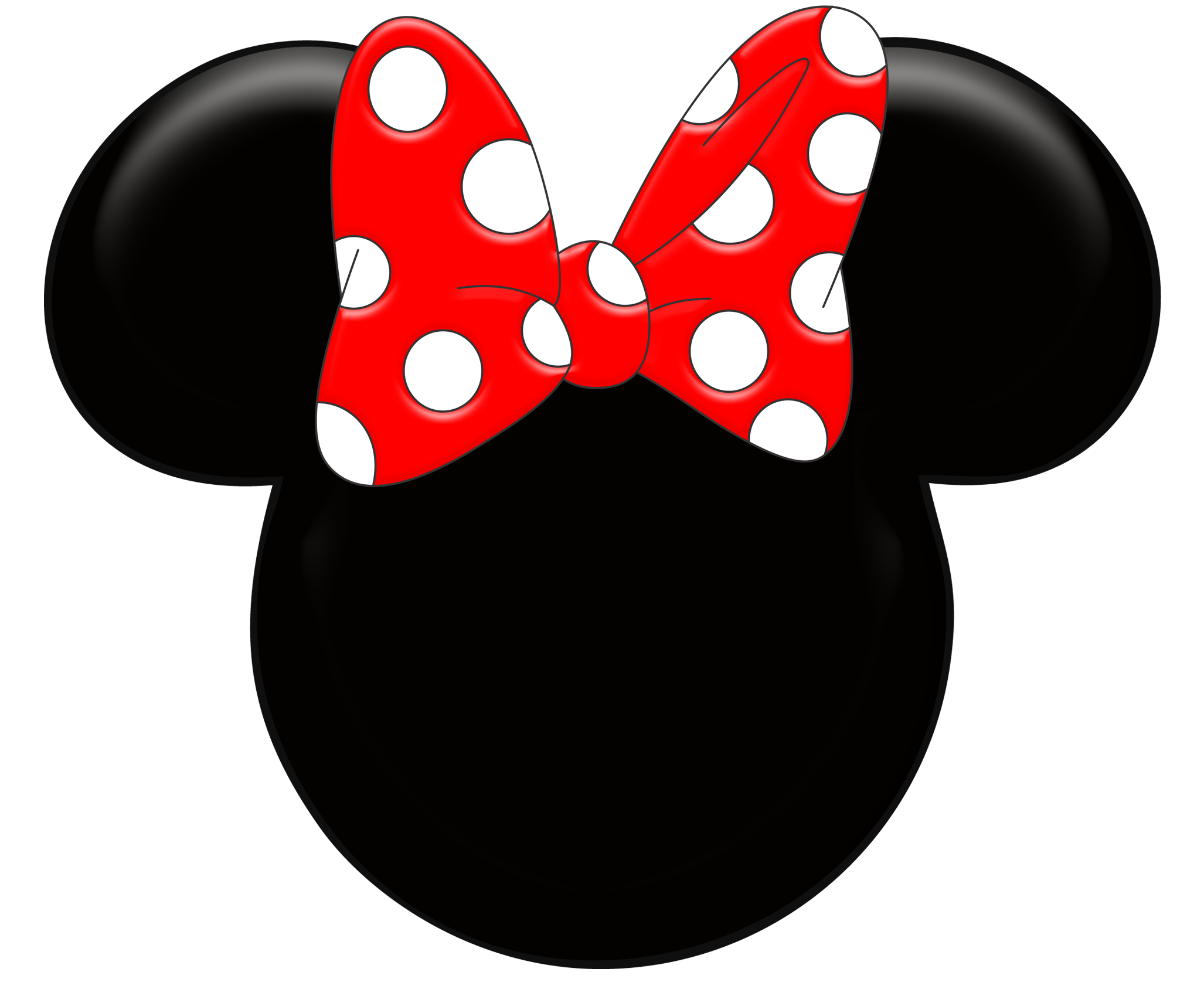 Red Minnie Mouse Wallpaper Kit Digital Minnie Mouse Png