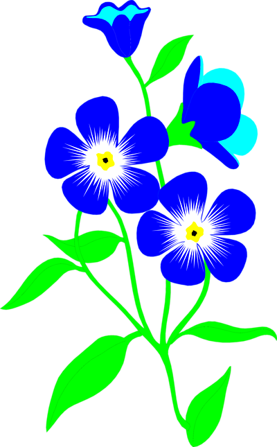 Small Flower Clip Art