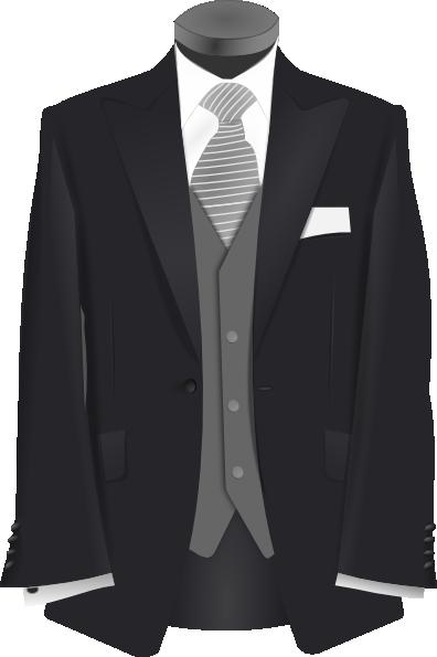 Clip art black and white suit clipart clipart kid