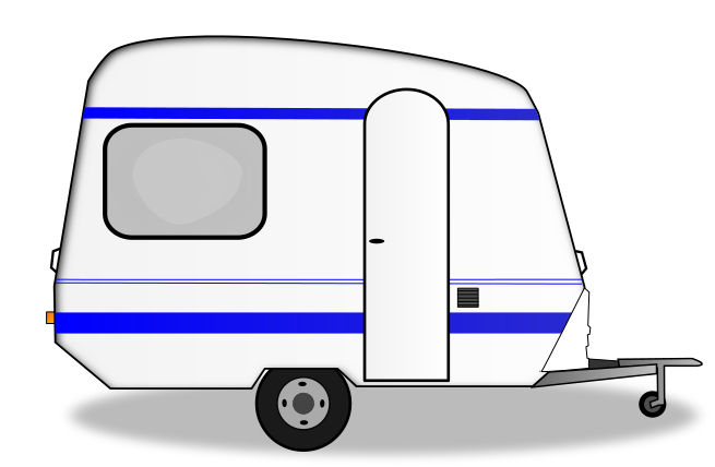 Are You In Need Of A Camping Trailer Clip Art For Use On Your Camping