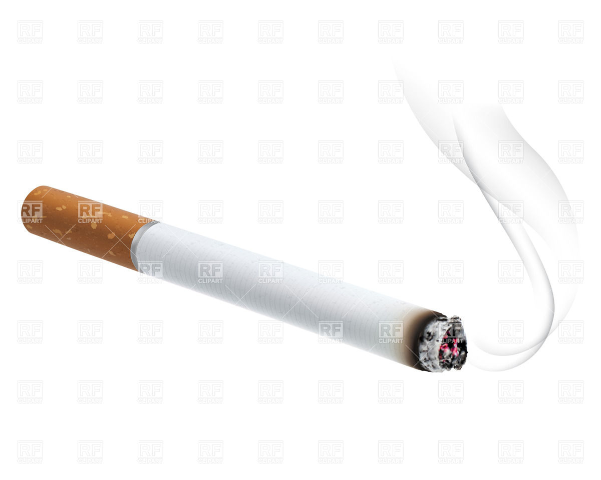 Cigarette 26295 Objects Download Royalty Free Vector Clipart  Eps