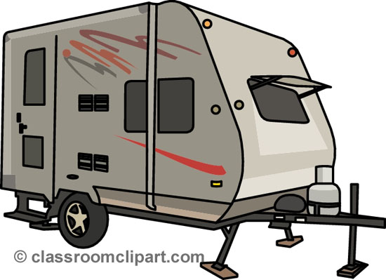 Clip Art Rv Http   Classroomclipart Com Clipart View Clipart Camping