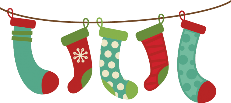 Holiday Sock Clipart Clipart Kid