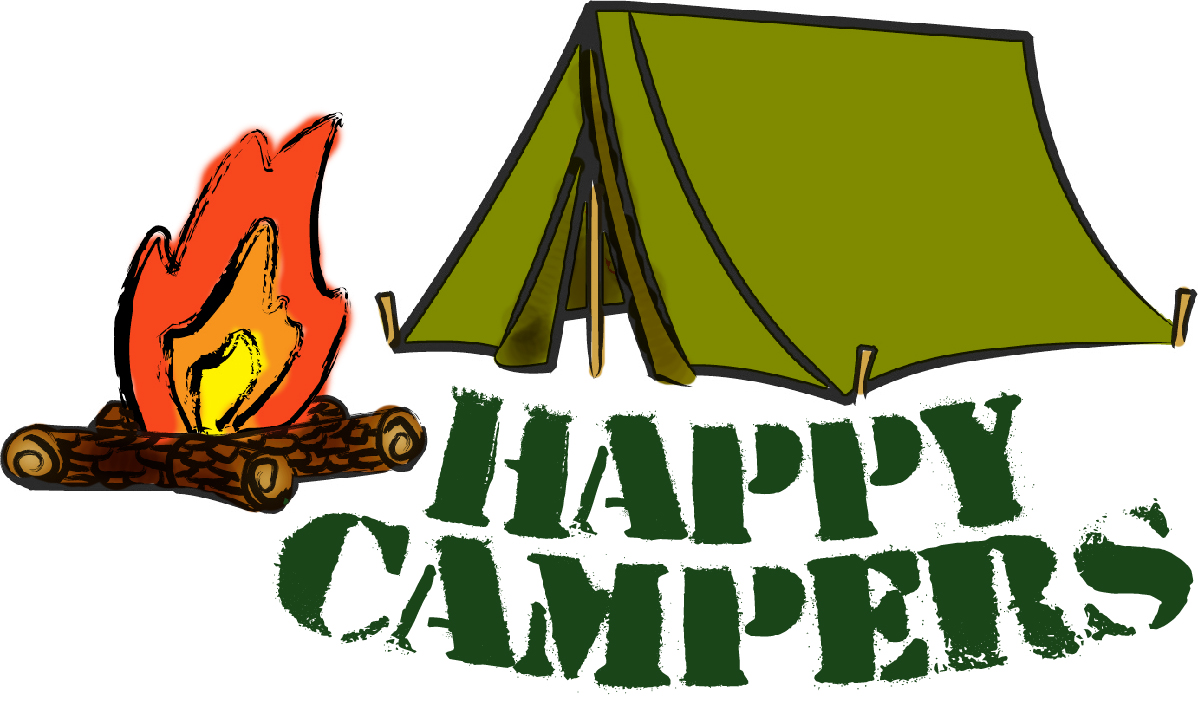 Family Rv Camping Clipart - Clipart Suggest