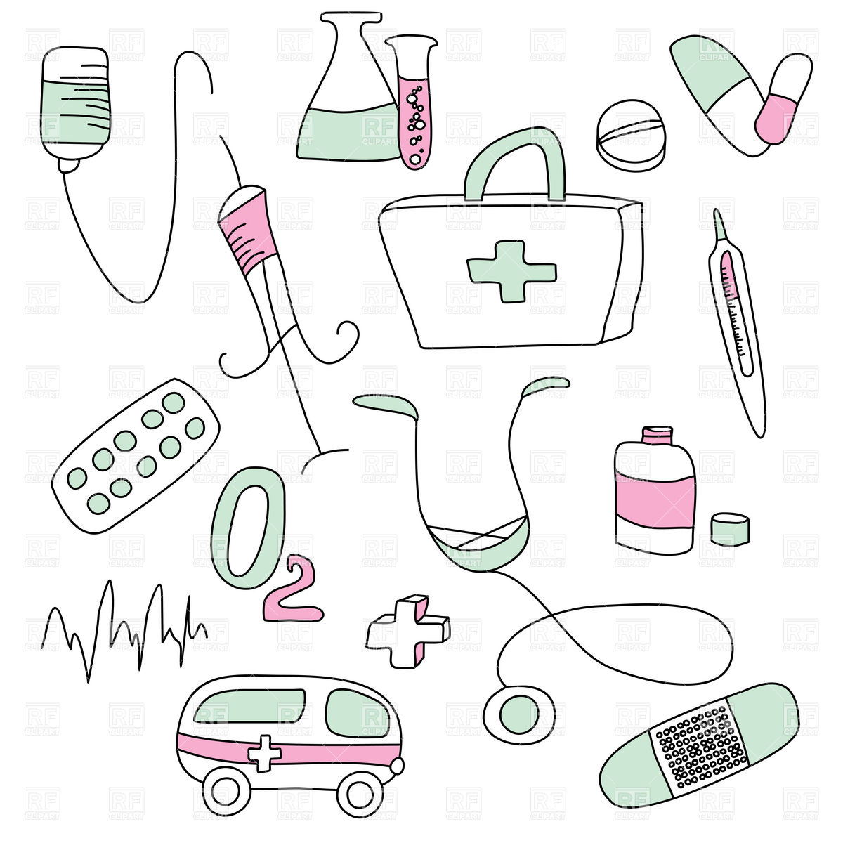 Medical Equipment And Objects 20149 Healthcare Medical Download