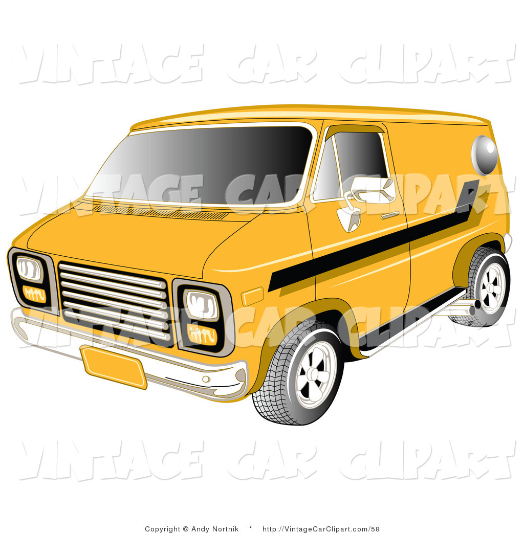 Old Chevy Truck Clipart Yellow 1979 Chevy Van With