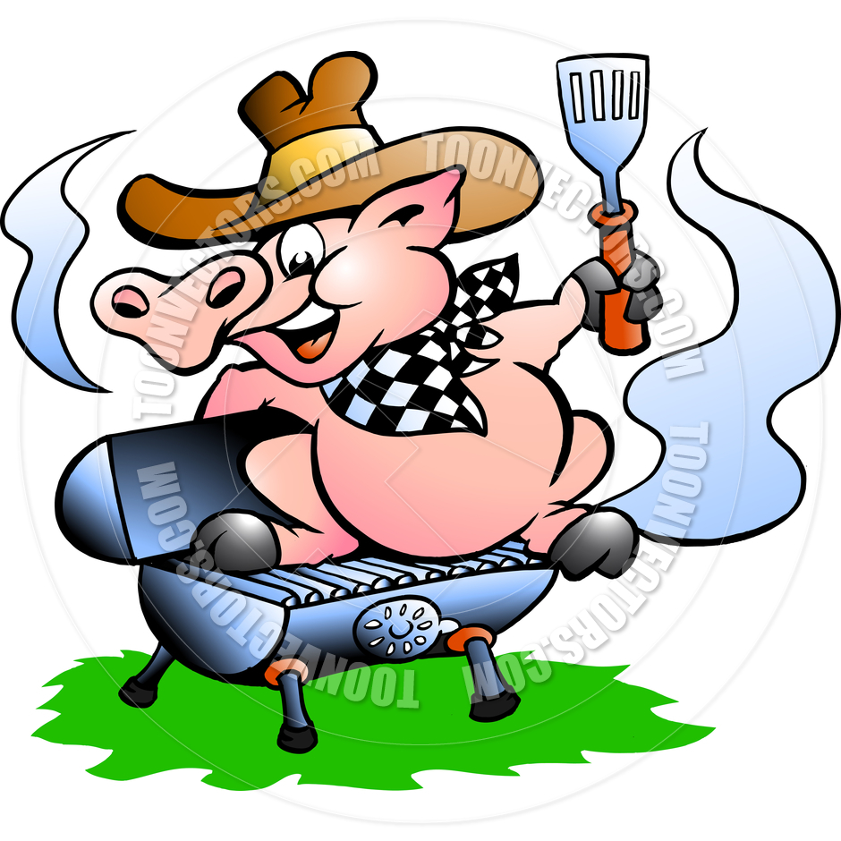 Pig Bbq Cartoon   Clipart Panda   Free Clipart Images