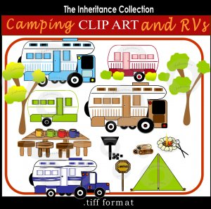 Rv Camping Clipart - Clipart Suggest