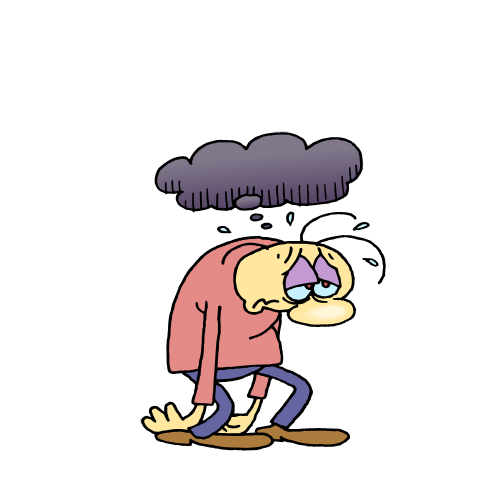 Exercise and Depression Clip Art