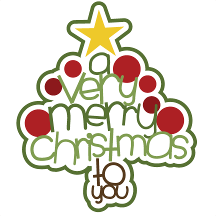 Merry Christmas Free Clipart - Clipart Kid