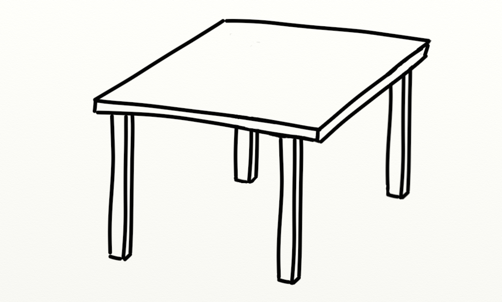 Clip art coffee table clipart clipart suggest Black and white coffee table