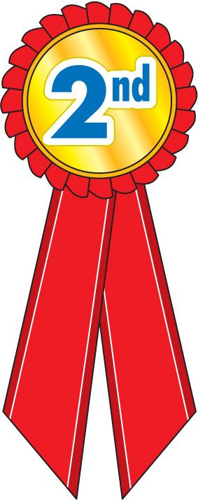 2nd Place Ribbon Clip Art