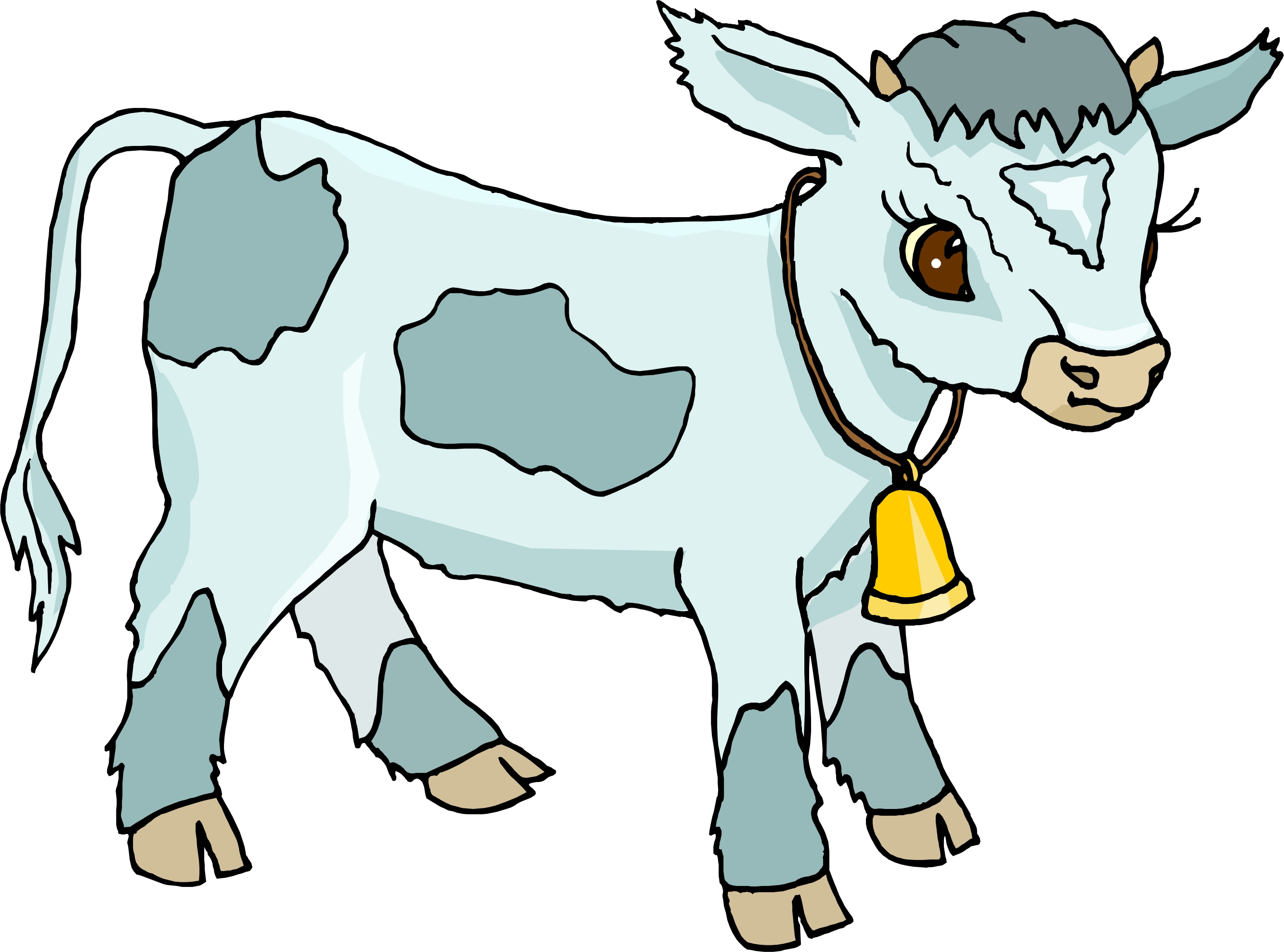 Baby Cow-calf Clipart - Clipart Suggest