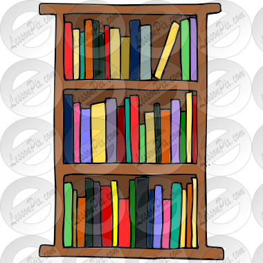 Classroom Bookshelf Clip Art Pictures To Pin On Pinterest