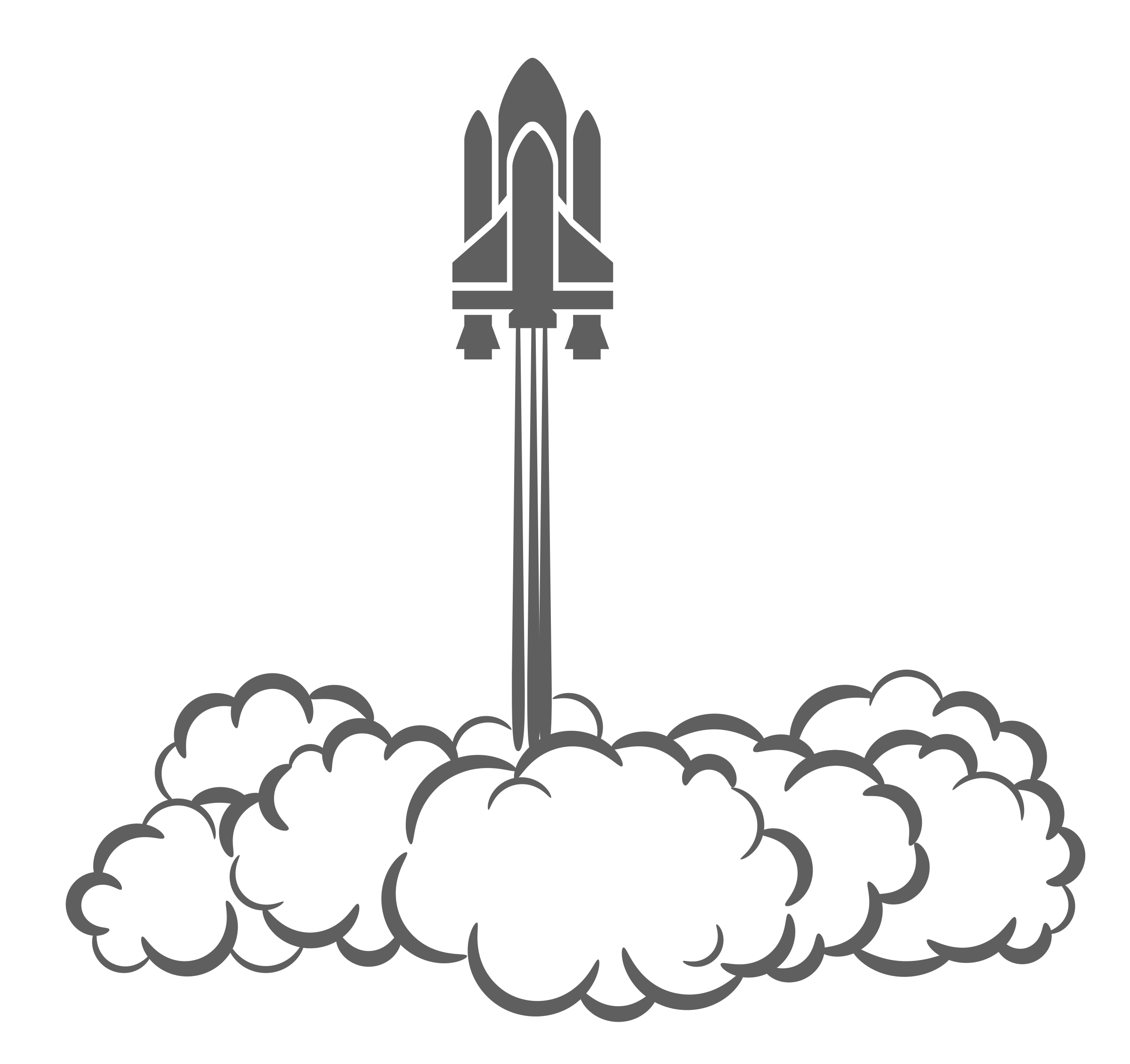 Cloud Of Smoke Clipart Clipart   Space Shuttle