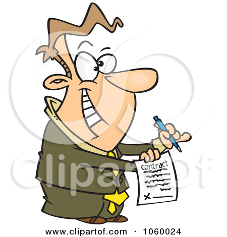 Contract Document Clipart   Free Clip Art Images
