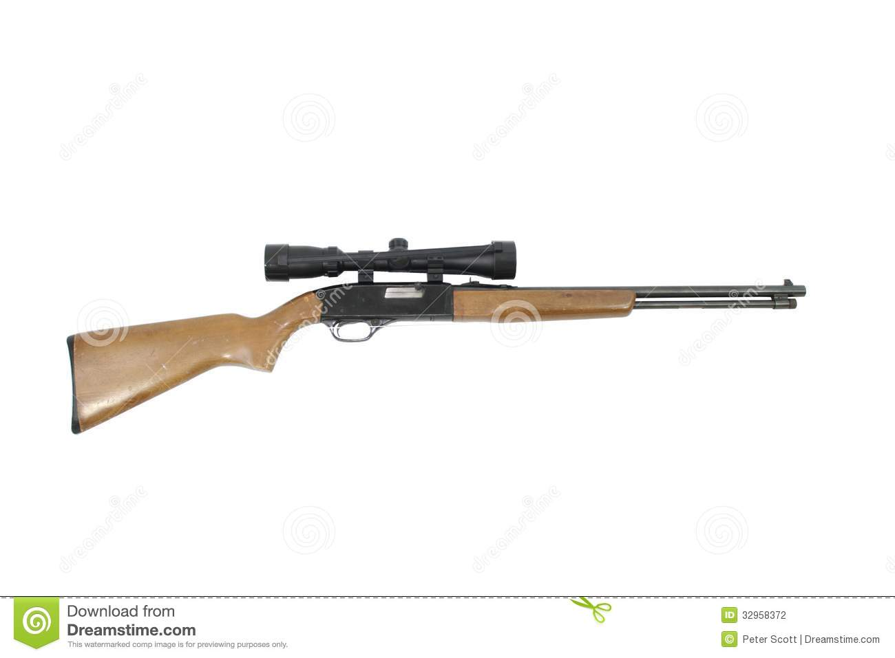 Hunting Rifle Clipart Hunting Rifle Isolated On A
