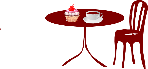 Diner Tables and Chairs Clip Art