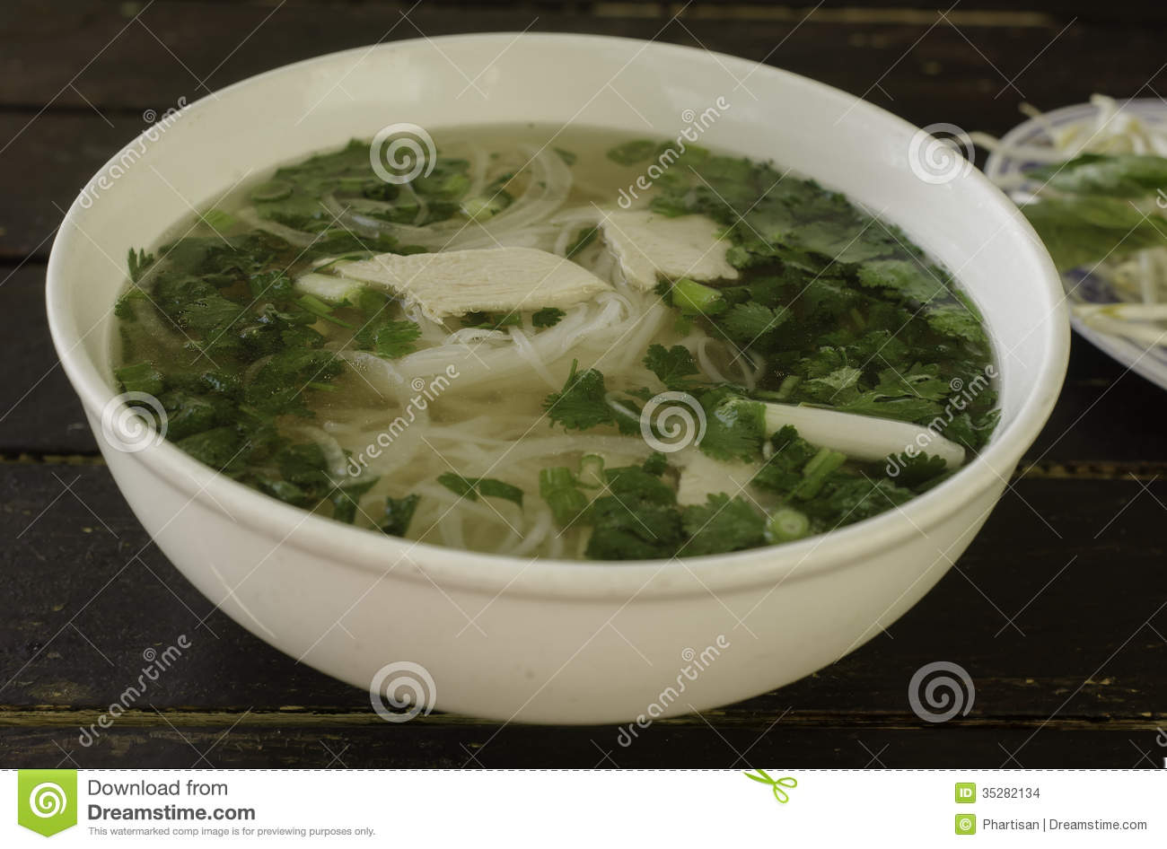 Pho Ga Vietnamese Chicken Soup Stock Images   Image  35282134