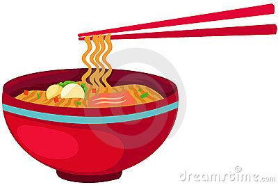 Pho Noodle Clipart