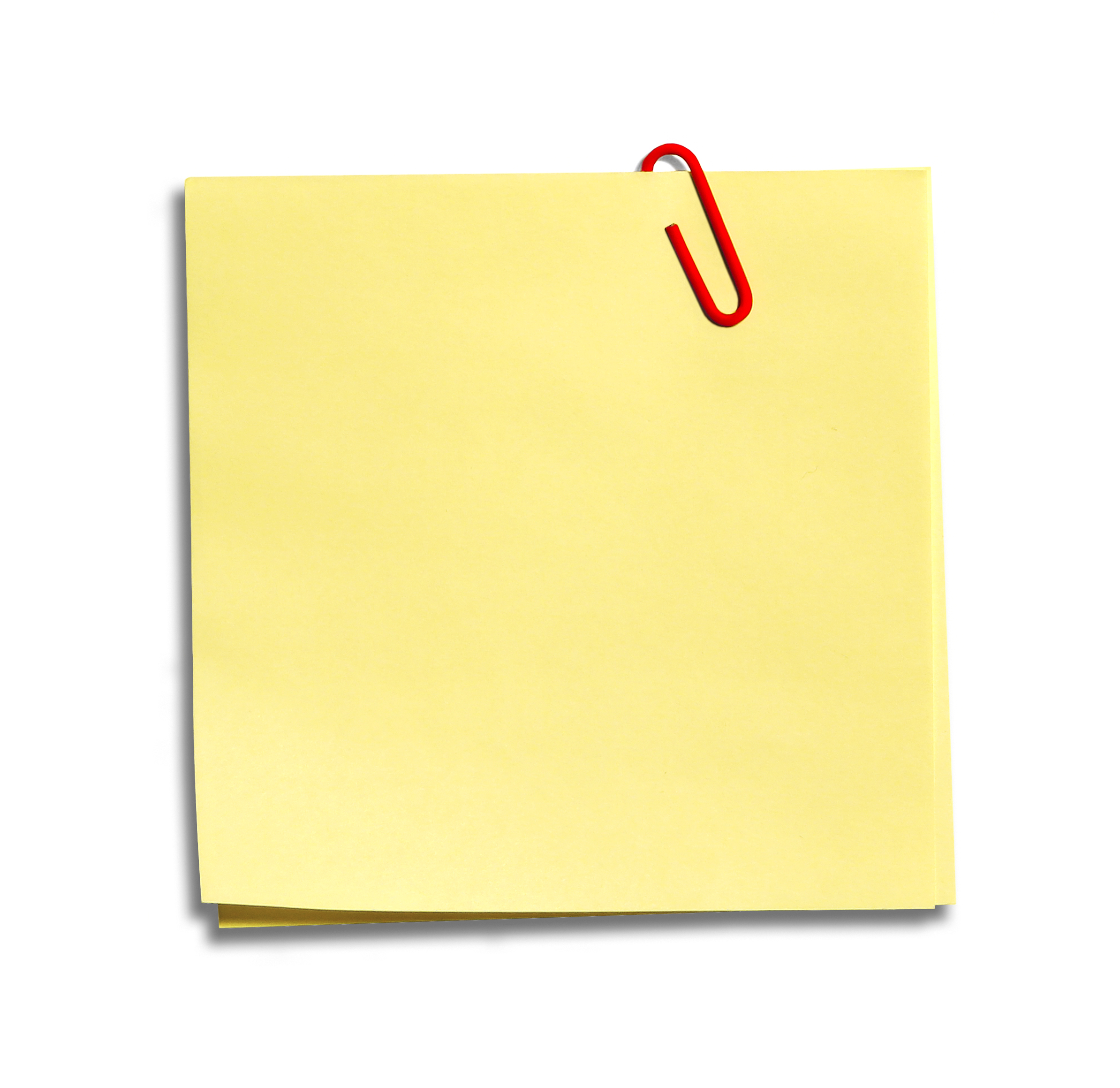 Post It Note Png   Clipart Best