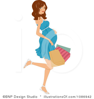 Pregnant Clip Art Royalty Free Pregnant Clipart Illustration 1086942