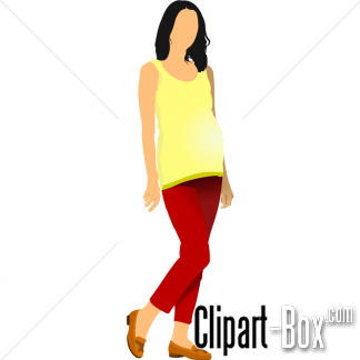 Related Pregnant Girl Cliparts