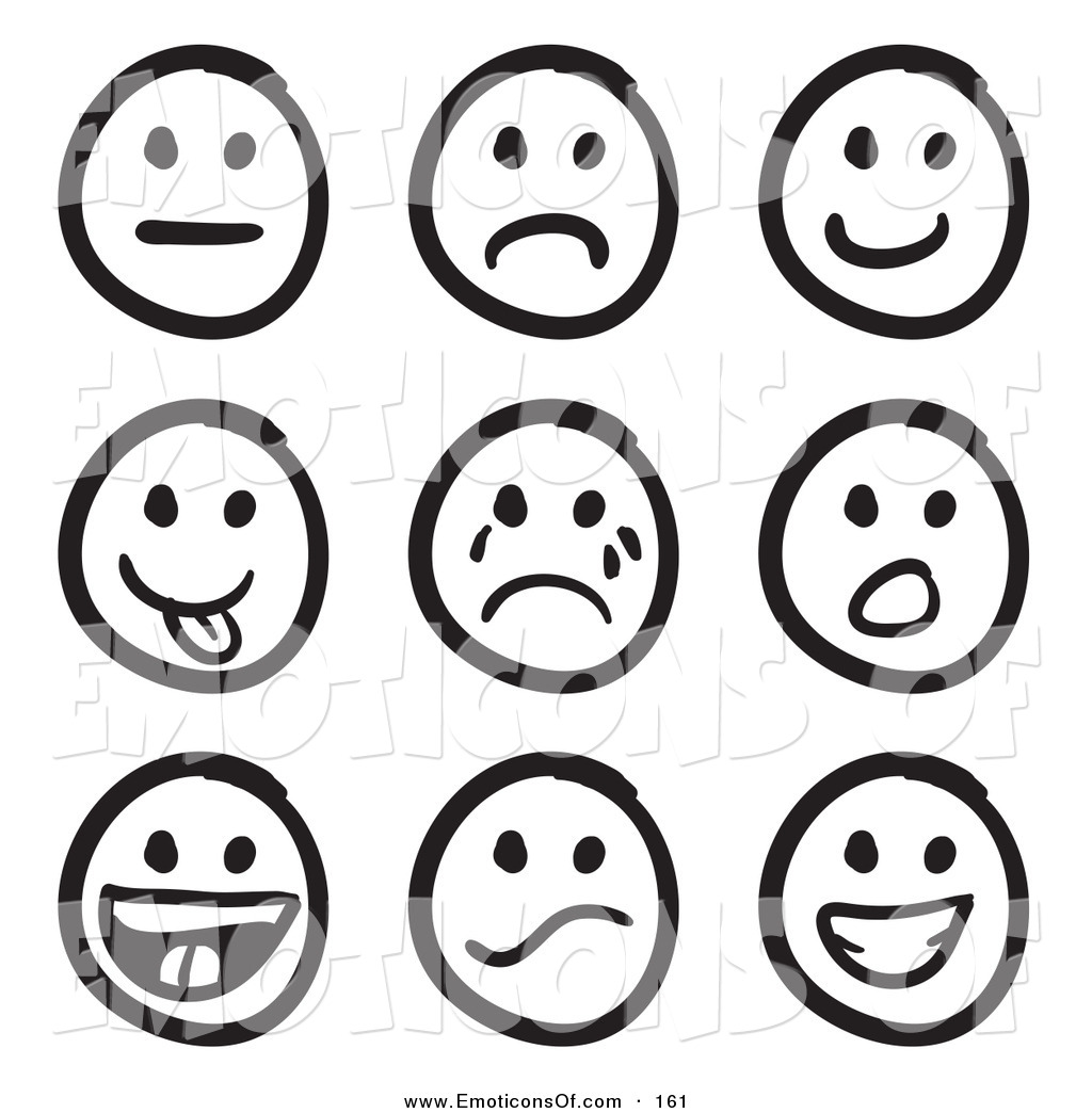 Smiley Face Clip Art Emotions   Clipart Panda   Free Clipart Images