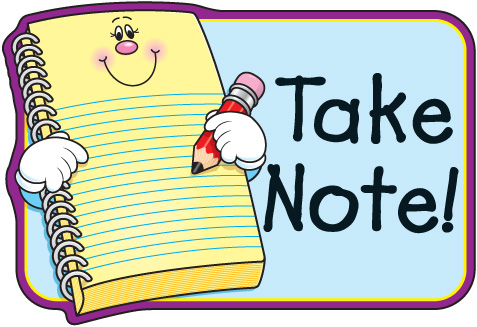 Students Taking Notes Clip Art Note  Cool Games  Click Here