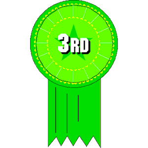 Vector Clipart Ribbon 3rd Place Free Vector Clipart Ribbon 3rd Place