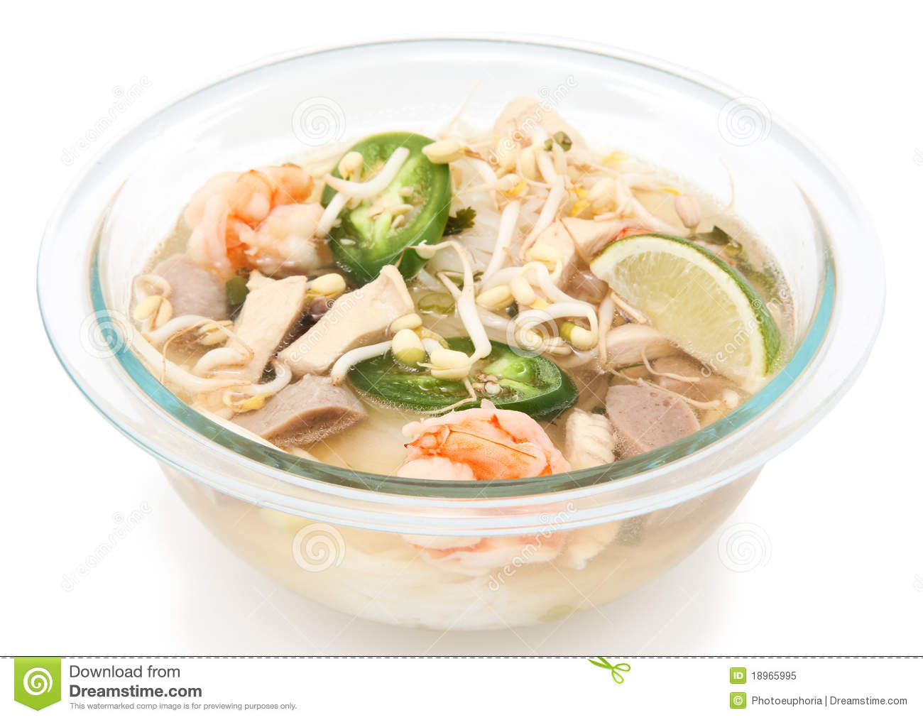 Vietnamese Pho Noodle Soup Royalty Free Stock Photo   Image  18965995