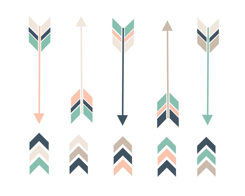Tribal Arrow Clipart - Clipart Kid
